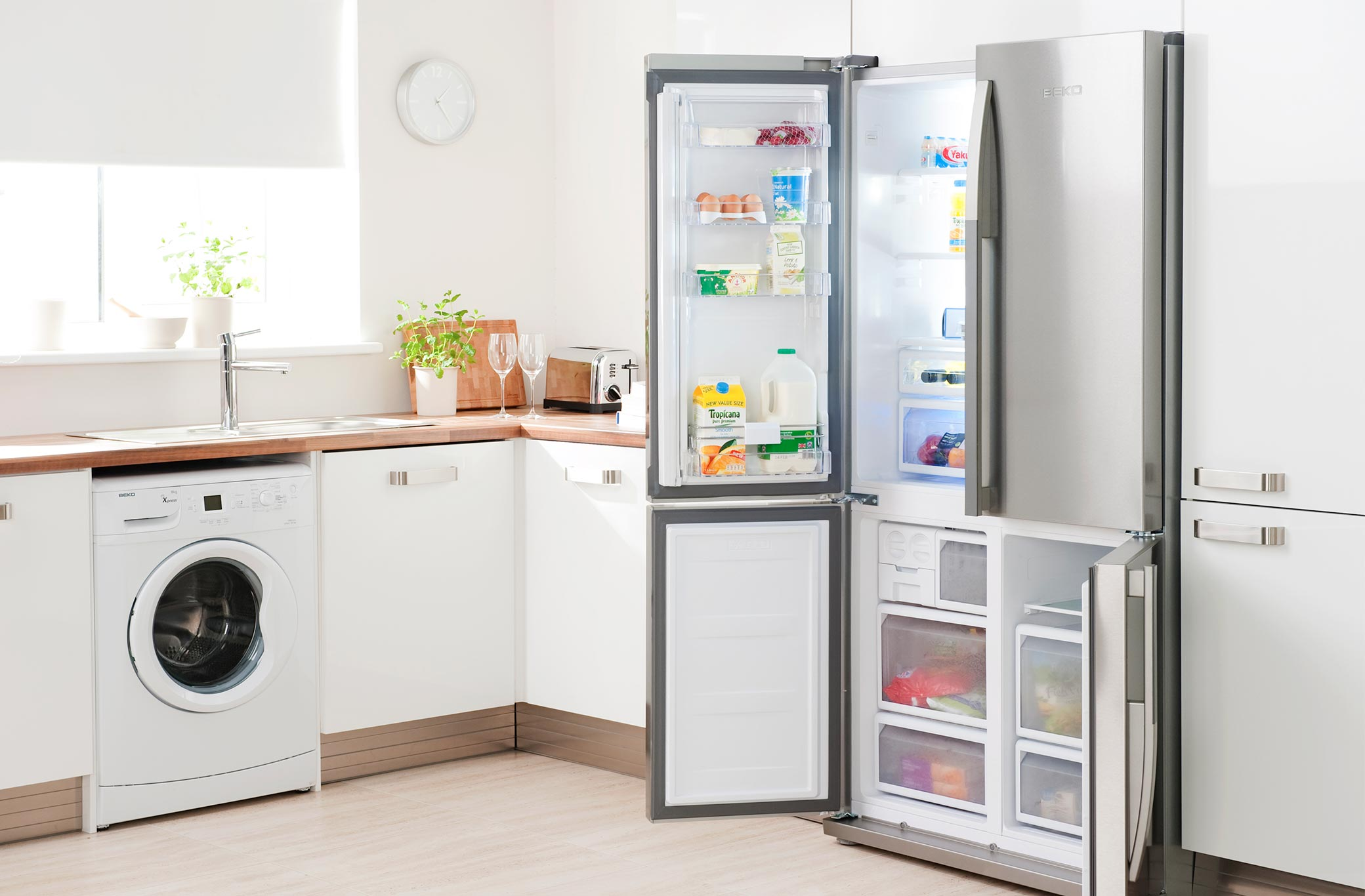 Cool storage with the Beko built in range, available at ao.com
