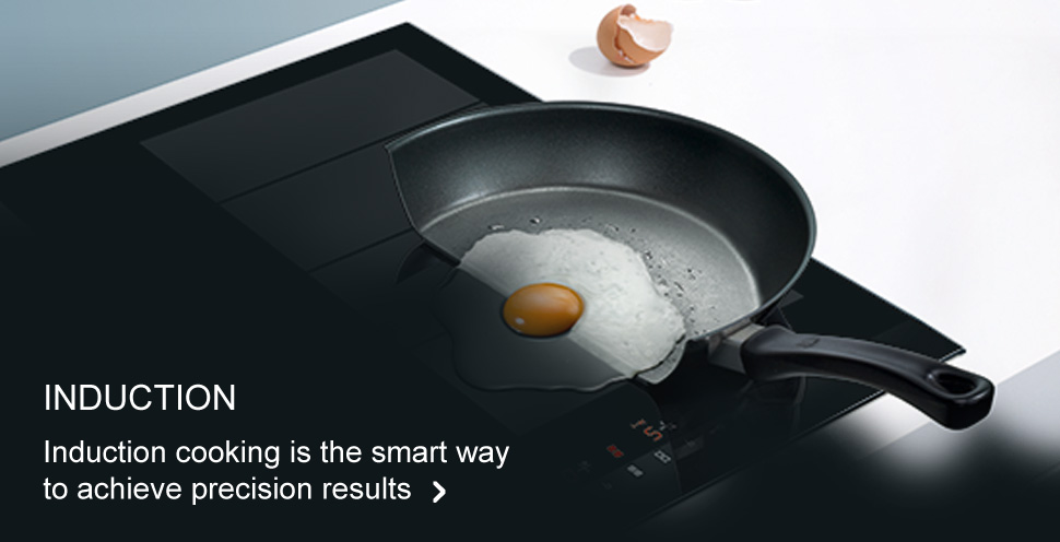 Induction cooking is the smart way to achieve precise results