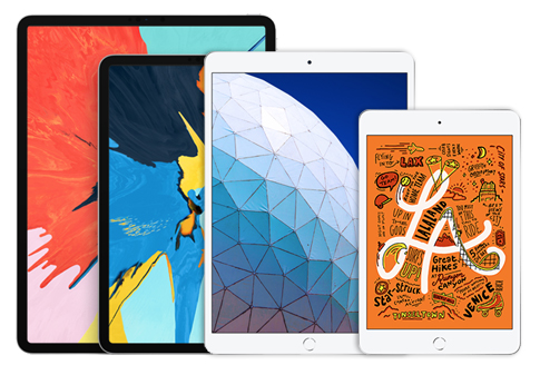 Various Apple iPads