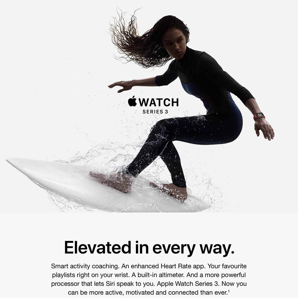 Apple Watch Series 3 Hero Image 1