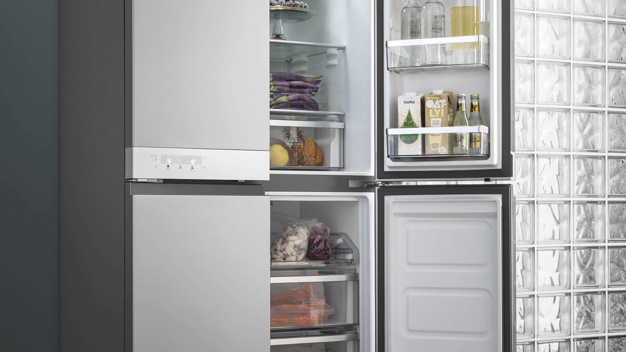 Side By Side Kühlschrank Einräumen : Kühlschrank richtig einräumen: mit anleitung & grafik ao.de