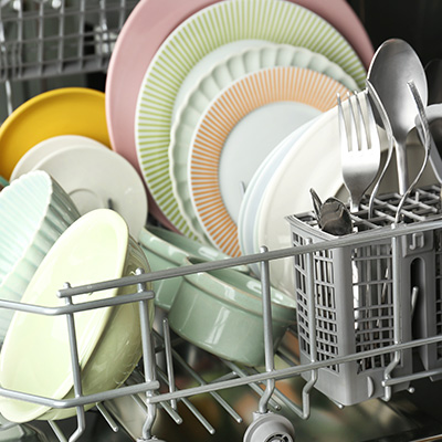 Don't overcrowd the dishwasher