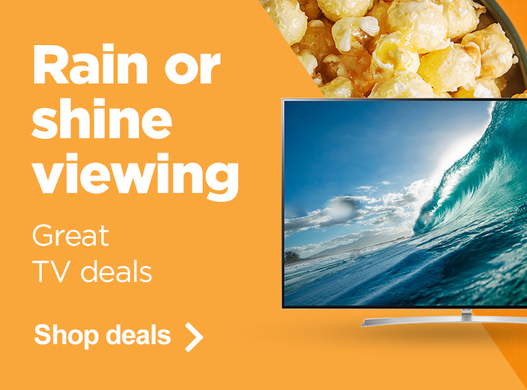Rain or Shine Viewing - Shop TVs