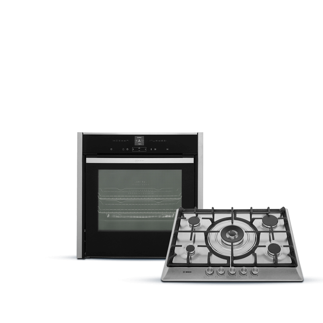 built-in ovens and hobs