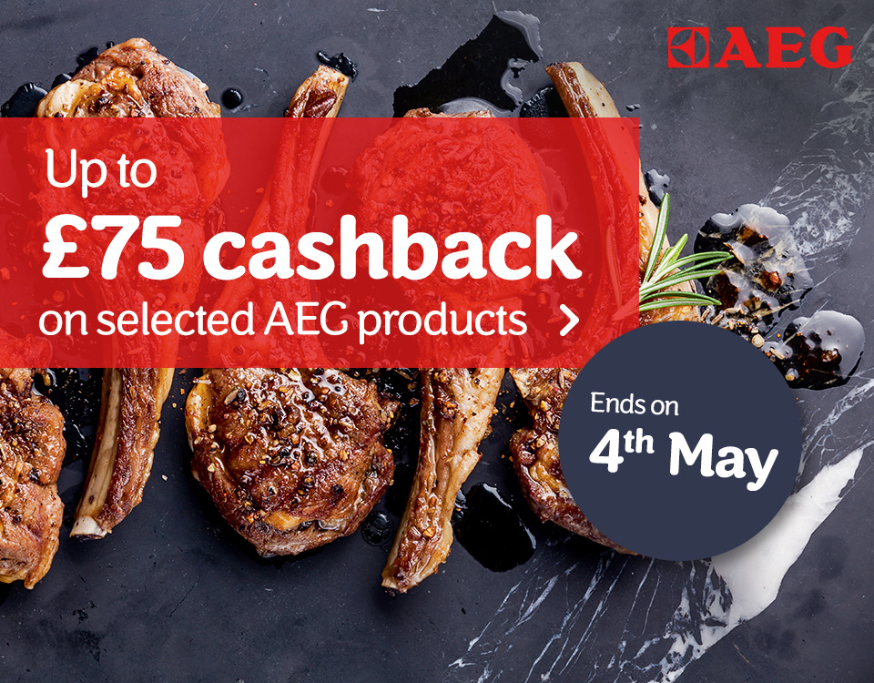 Up to 75 cash back on AEG
