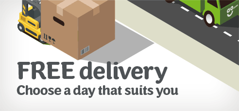 FREE Delivery - choose any day - even weekends!