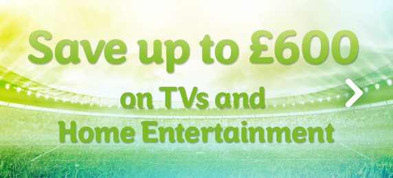 Save up to £600 on sound and Vision