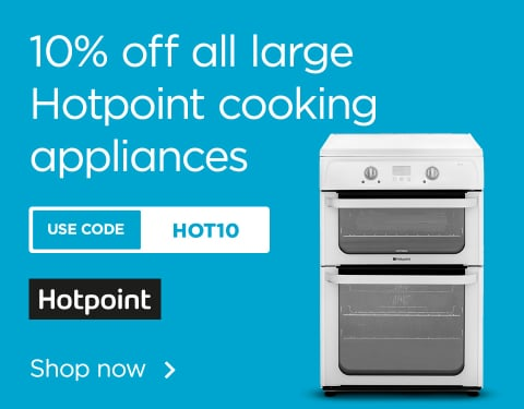 10% off Hotpoint cooking