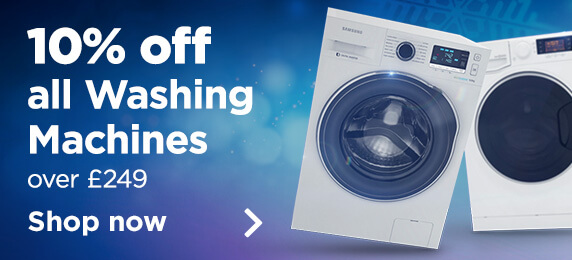 10% Off Washing Machines