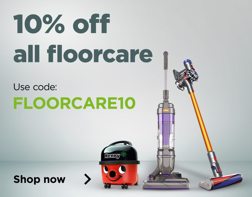 10% off Floorcare