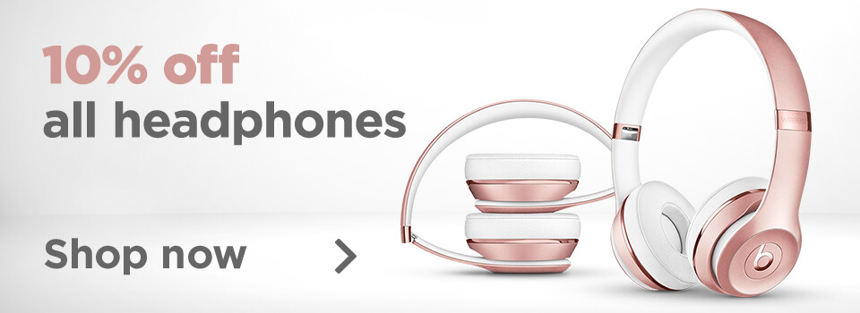 10% Off Headphones