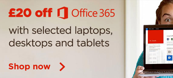 £20 off office 365