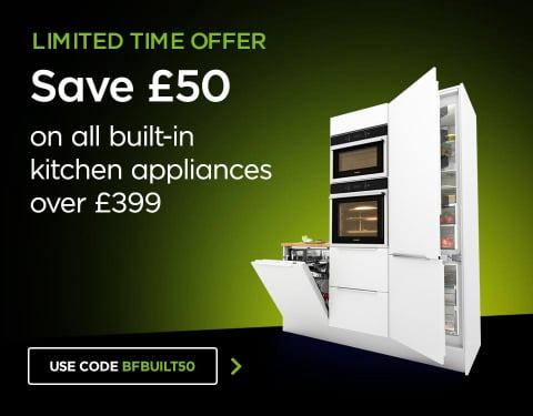 £50 off Built in over £399