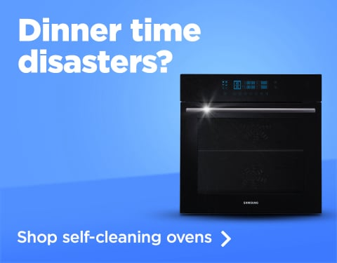 Avoid dinner time disasters with self-cleaning ovens