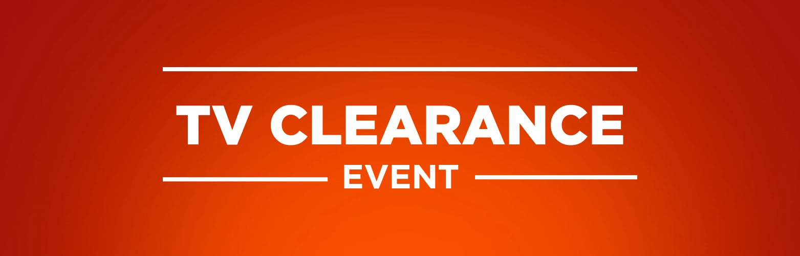 TV Clearance event