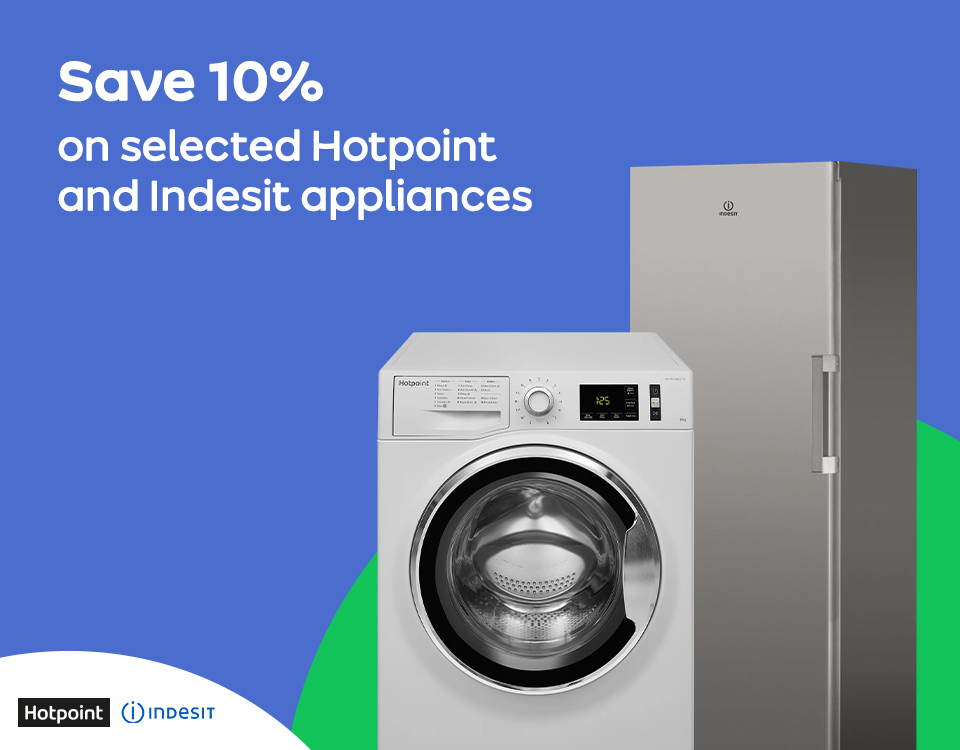 10% off Selected Indesit & Hotpoint Throughout March | AO Business
