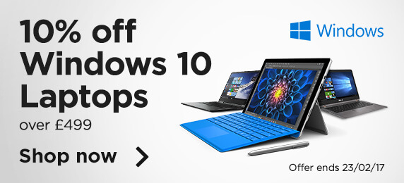 10% off windows 10