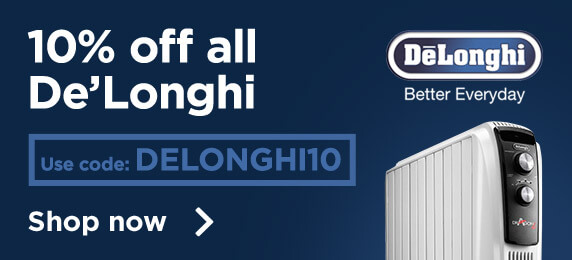10% off Delonghi
