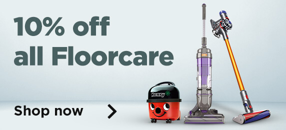 10% off all Floorcare