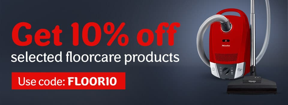 10% off selected floorcare