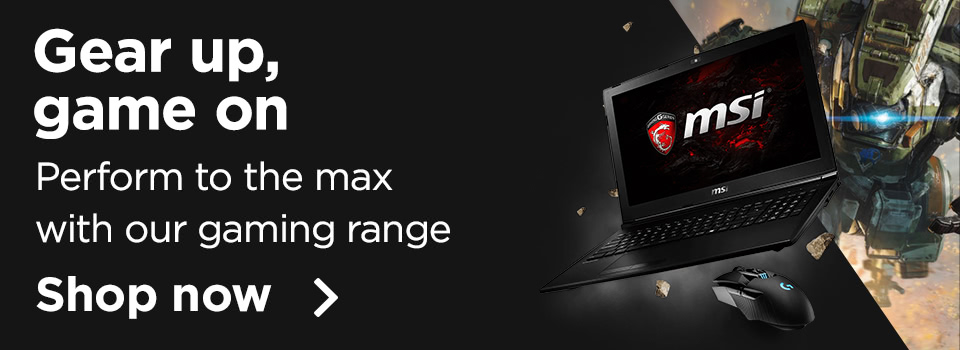 perform to the max with our gaming range