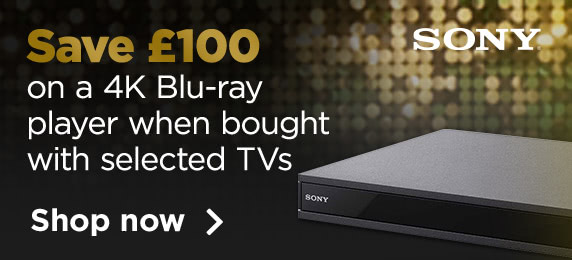 Save £100 on a Sony BluRay