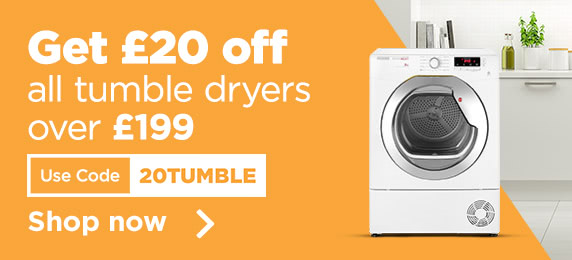 £20 off Tumble Dryers