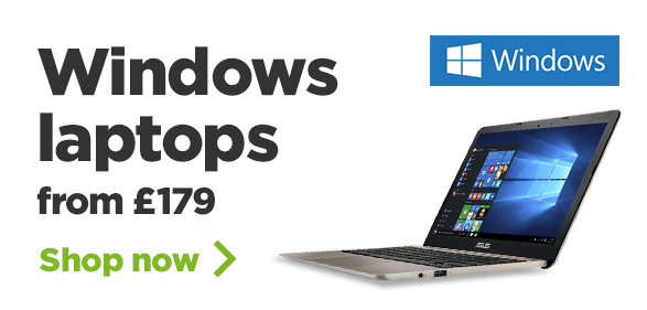 Windows Laptops from £179
